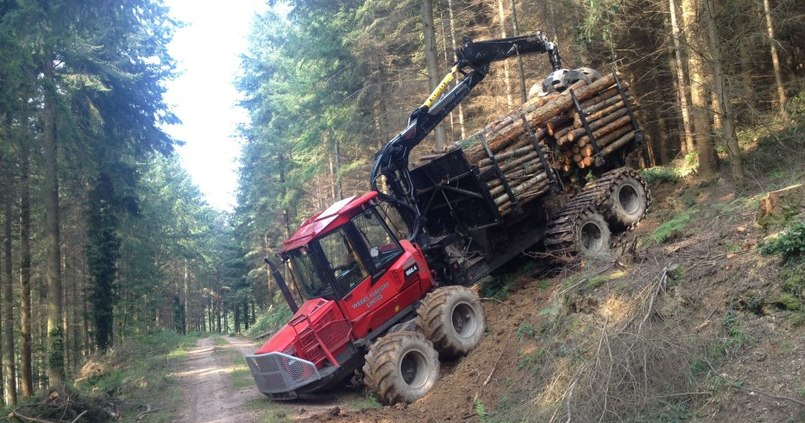 Steep harvesting project with Weeks Forestry