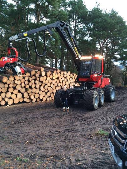 Devon based Forestry Contractors